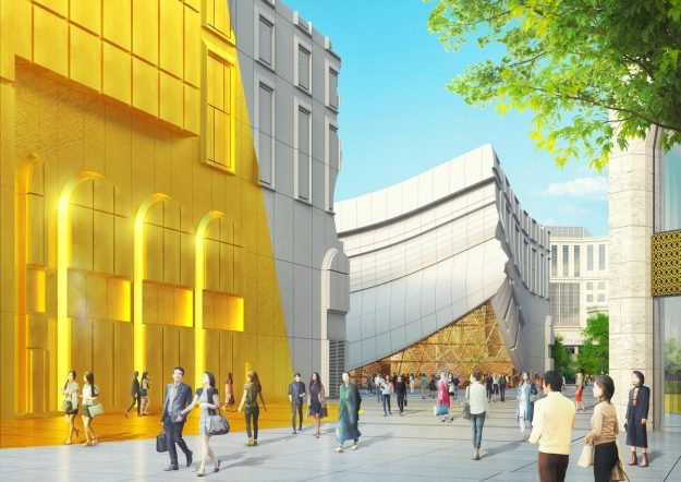 Paradise City is expected to open in Seoul in 2018. Image: MVRDV