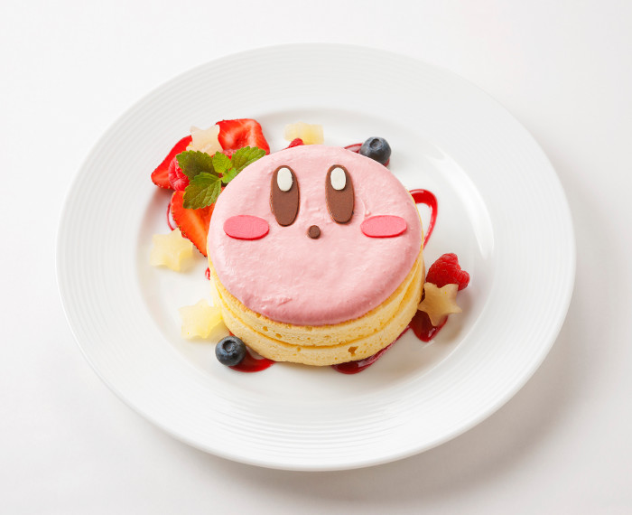 Some of the parties available at the Kirby Cafe