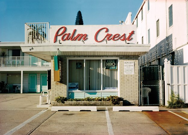 Palm Crest Motel, the cinematic quality of the motels made them escapes for millions