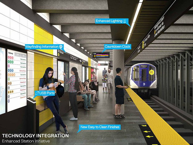 A rendering of how the Metro will look in the future.