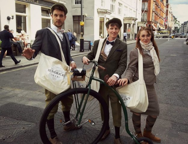 Distributing Hendrick's Gin's nonsensical guide to travel The Unusual Times. Image: Hendrick's Gin