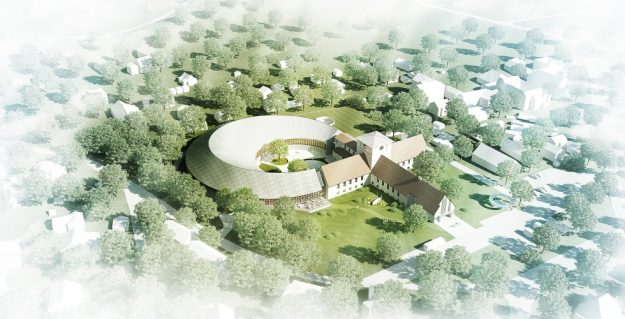 Design for the Viking Age Museum by AART Architects.