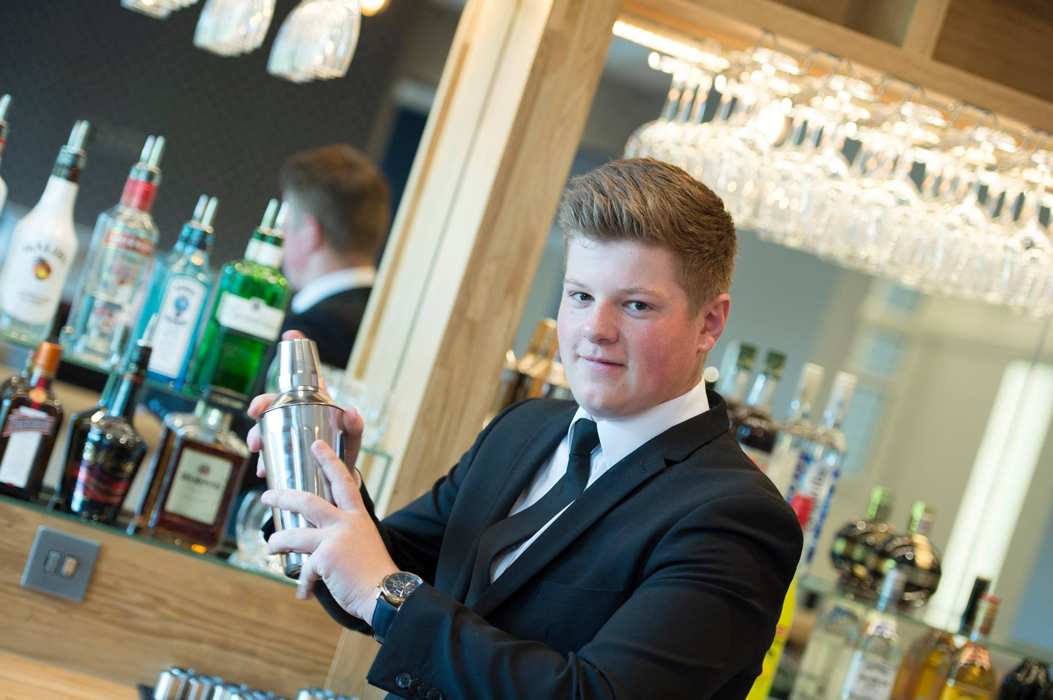 Students will help to run the hotel bar Photo: The Yarrow Facebook