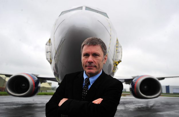 Bruce Dickinson, Director Cardiff Aviation Ltd and Iron Maiden front man has helped relaunch Air Djibouti.