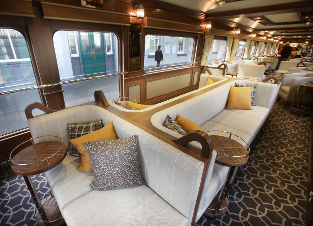 ireland 39 s first luxury sleeper train is right on track. Black Bedroom Furniture Sets. Home Design Ideas