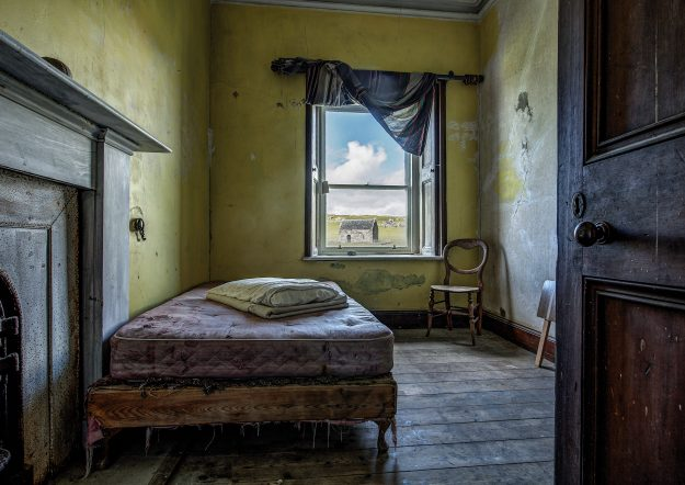 Abandoned Homes On Remote Scottish Isles Captured By John