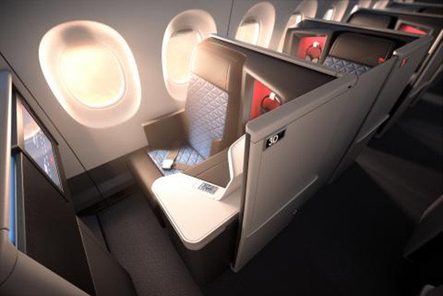 The new Delta One suite.