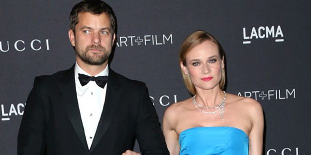 Suddenly single: Joshua Jackson and Diane Kruger - could do with a pamper package?