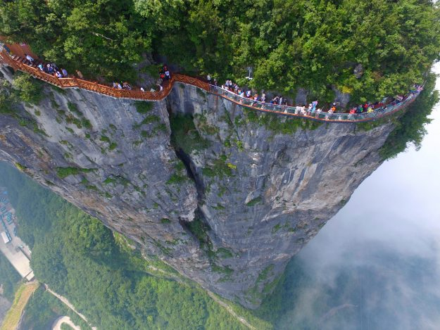 ONE USE ONLY GETTY The Coiling Dragon Cliff skywalk