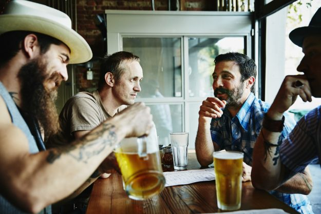 This could be you and your friends if plans for a beer-friendly hotel get off the ground.