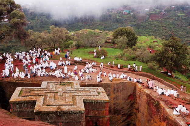 Lalibela Church, Ethiopia.