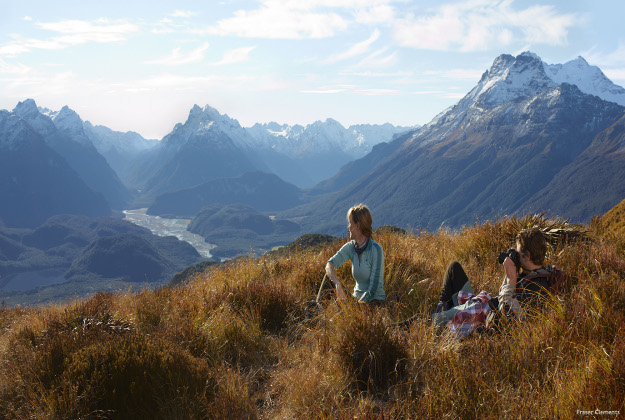 Breath-taking shot using the New Zeland countryside for the shooting of Disney's Pete's Dragon