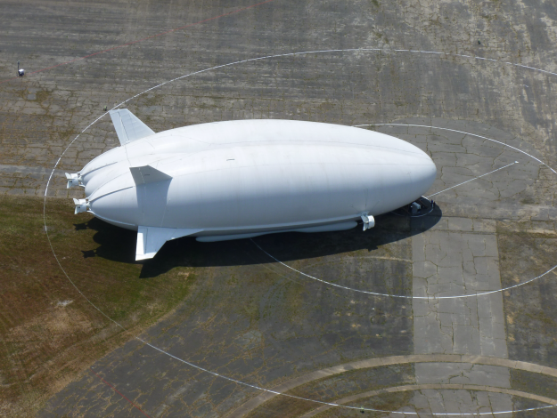 At 302 ft long and 85 ft high, the Airlander 10 is the largest aircraft in the world.