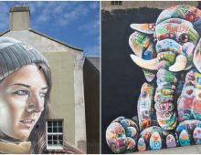 Waterford Walls Street Art Sticky