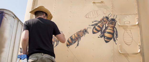 Honey Bee Murals The Good Of The Hive