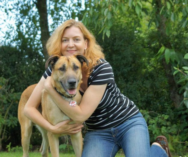 Olivia Sievers adopted Rubio and brought him home to Germany. Image: xx