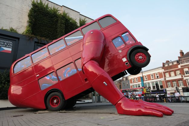 The London Booster was created to mark the London Olympics in 2012.