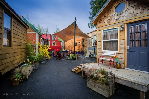 Portland Oregon is tiny house hotel capital of US