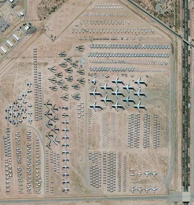 Davis-Monthan Air Force Base in Arisona, USA.