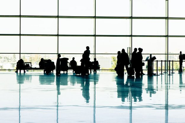 Airlines crew spend more time than most people in airports.