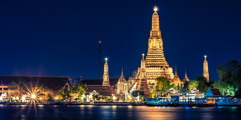Bangkok surpassed London as the top travel destination for