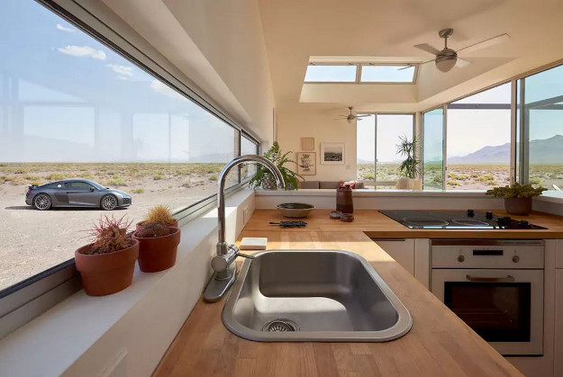 Guests can rent a home in Death Valley.