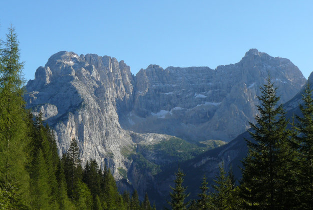 The Dolomites in the South Tyrol, Italy.