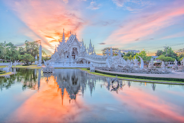 Image result for pictures the white temple thailand