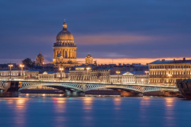 St Petersburg Is The Highestrated Port Among Cruisegoers - Highest river in the world