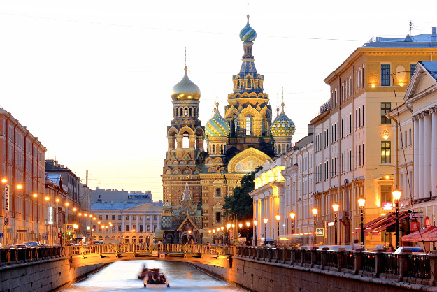 St Petersburg has been named Europe's leading destination