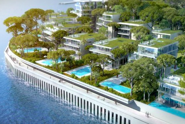 The tiny principality, known as a playground for the rich, has to reach out to the sea to make room for more apartments