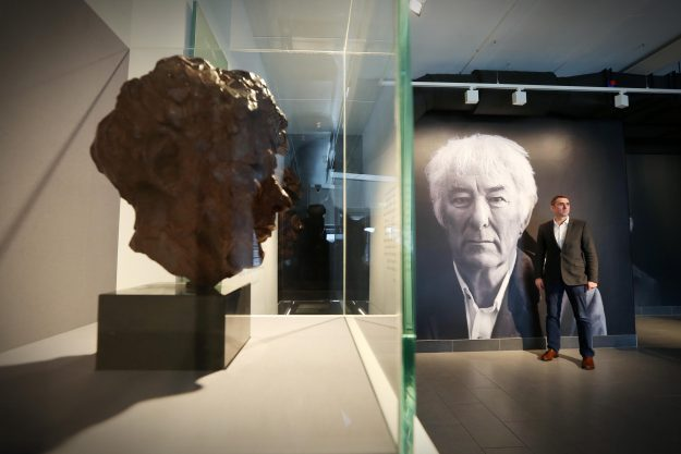 Centre manager Brian McCormick at the Seamus Heaney HomePlace in Derry. Image: Mid Ulster Council