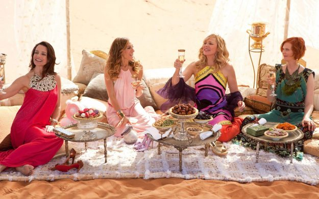 Sex and the City 2 has been credited with enticing visitors to Abu Dhabi. Image: Warner Bros Pictures