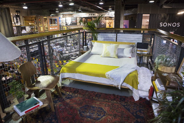 The Rough Trade Airbnb.
