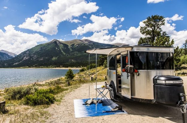 The Airstream Basecamp starts at $34,900 with additional add-ons available.