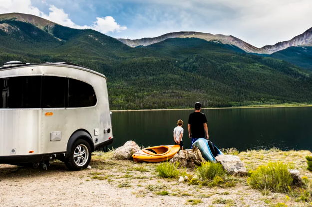 Modern designs mean the that Airstream Basecamp is suited to handle rougher terrains with more ease.
