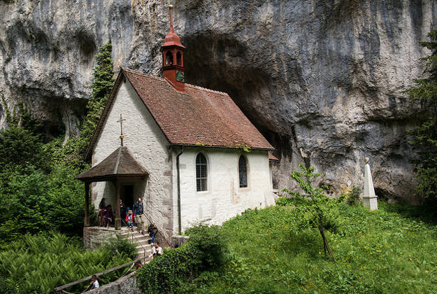 Hermitage at Verena Gorge, Switzerland.