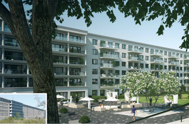 The luxury accommodation is set to be completed by 2022, with a range of modern facilities available.