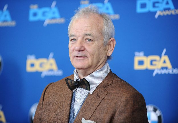 LOS ANGELES, CA - FEBRUARY 07: Actor Bill Murray attends the 67th annual Directors Guild of America Awards at the Hyatt Regency Century Plaza on February 7, 2015 in Los Angeles, California. (Photo by Jason LaVeris/FilmMagic)