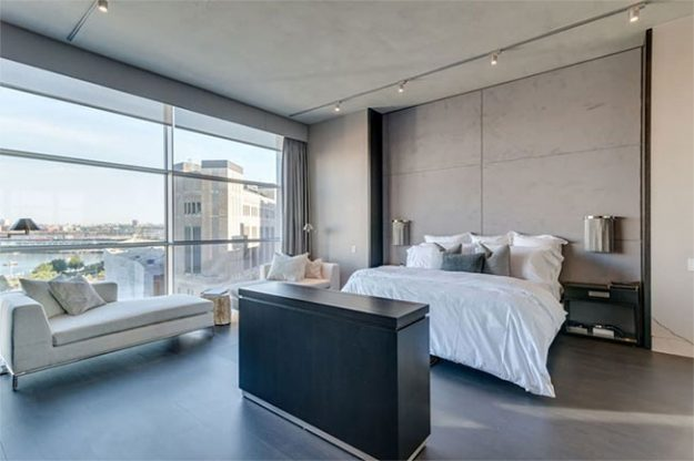 The New York penthouse that Kim Kardashian and Kanye West are staying in for free. Image: Airbnb
