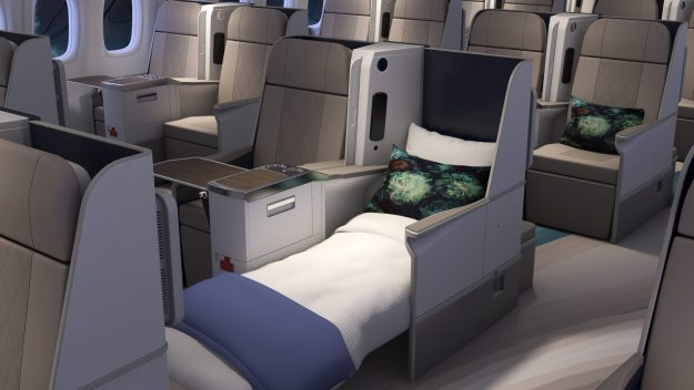 This Crystal Aircruises Boeing 777-200LR is one of the most luxurious planes in the world. Image: Crystal Cruises