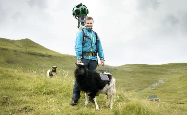 In the Faroe Islands, Street View has become Sheep View. The locals miss having Google Street View so much that they created their very own with the help of the locals: the many sheep (The Faroe Islands means sheep Islands). Google did notice the project and has now come to the Faroe Islands to give a helping hand. Read more at: www.sheepview360.com #WeWantGoogleStreetView