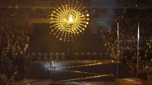 The opening ceremony of the Paralympic games