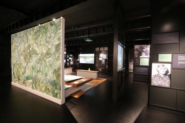 The creative area at the Seamus Heaney HomePlace in Derry. Image: Mid Ulster Council