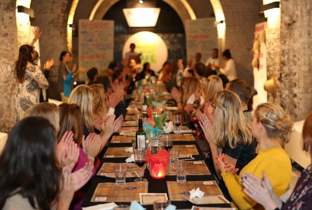 Conflict Cafe opens on London's South Bank.