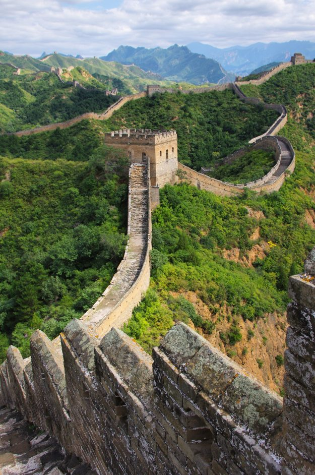 A Railway Stop Is To Be Built Under The Great Wall Of China