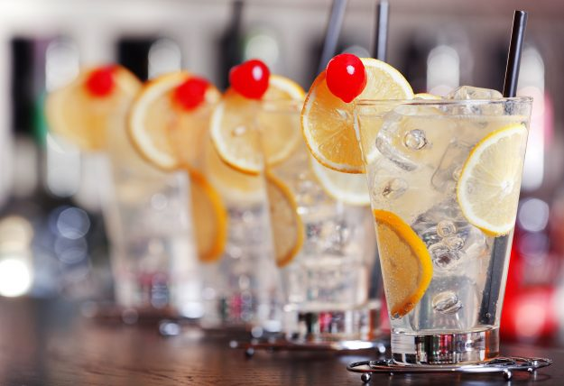 The drinking habits of American travellers often change at the airport