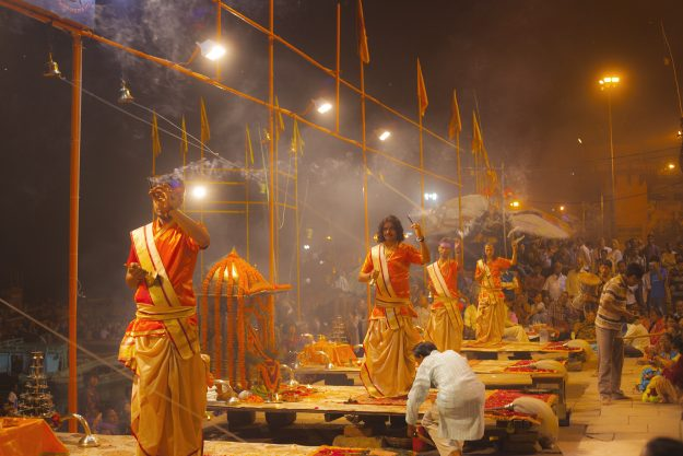 India's cheap flights means visiting places like Varanasi are in the grasp of more budget travellers.