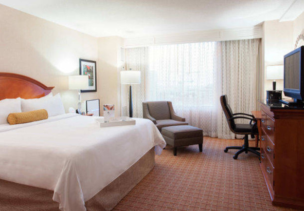 Thirty-four rooms at Tampa Marriott Waterside Hotel & Marina have been converted to the Stay Well concept.