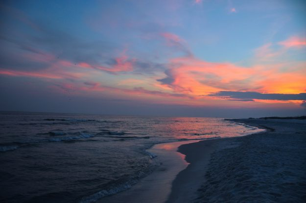 Fort Pickens National Park at the Gulf Islands National Seashore.